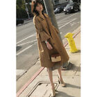Women's Spring Autumn Casual Flare Sleeve Long Coat Outdoor Loose Fashion Parka