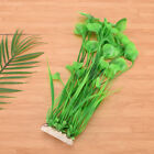 Grass Aquarium Decor Water Weeds Ornament Plastic Plant Fish Tank 3 Colors S6EP