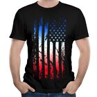 Mens American Patriots Warriors Army Military Marines Flag T-Shirts Tees Tops