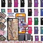 For Apple iPhone 6s, 6 Shockproof Rugged Case Cover(Clip fits Otterbox Defender)