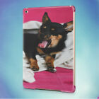YAWNING DOG UNDER A BLANKET BACK HARD CASE COVER FOR APPLE IPAD