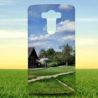 ANCIENT ARCHITECTURE BARN BUILDING HARD BACK CASE COVER FOR LG PHONES