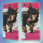 YAWNING DOG UNDER A BLANKET HARD BACK CASE FOR SONY XPERIA PHONES