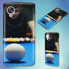 POOL BILLIARDS PERSON PLAYING BILLIARDS HARD BACK CASE COVER FOR NEXUS PHONES $11.53 CAD on eBay