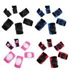 6 Pcs Kids Protective Gear Wrist Elbow Knee Pads Blades Guard Skating Bike