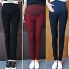Soft Casual Belly Denim Maternity Jeans Pencil Trousers For Pregnant Women