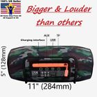 "11""x5""x5"" BIG Xtreme Waterproof Wireless Portable Bluetooth Rechargeable Speaker"