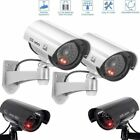 Dummy CCTV Security Camera Flashing IR LED Indoor Outdoor Fake Surveillance Cam