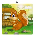 Wooden Forest Animal Puzzles Baby Early Educational Intelligence Toys (20 Pcs)