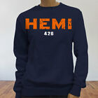 426 HEMI 4X4 POWER DIESEL FORD DODGE JEEP MOPAR Womens Navy Sweatshirt $27.99 USD on eBay