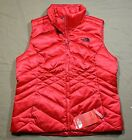 NWT THE NORTH FACE WOMEN'S ACONCAGUA TNF RED DOWN PUFFER VEST JACKET SZ L XL