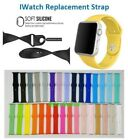 Replacement Sports Silicone Bracelet Strap Band for Smart Watch iWatch 38mm/42mm image