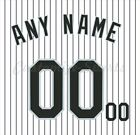 Baseball Colorado Rockies White Home Jersey Customized Number Kit un stitched