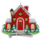 Our First Christmas New House Personalized Ornament Handcrafted Christmat Gift