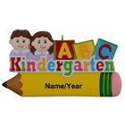 Kindergarten Boy/Girl Elementary School Teacher Personalized Christmas Ornament