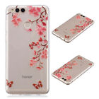 Painted Case Cover Soft TPU Skin Slim Silicone Back For Huawei Honor Smart phone