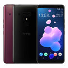 "HTC U12+ Plus Dual 64GB (FACTORY UNLOCKED) 6.0"" QHD 6GB RAM Black Blue Red"