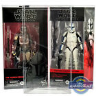 "Star Wars The Black Series BOX PROTECTOR for 6"" Figure PET Plastic Display Case"