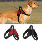Adjustable Nylon Dog Harness Reflective Mesh Vest for Medium Large Dogs K9 Boxer