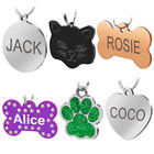 Engraved Dog Tags Pet Dog Cat ID Tags Personalised Name Addr
