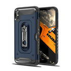For iPhone XS Max XR X 8 7 Plus Shockproof Kickstand Card Pocket TPU Case Cover