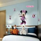 Minnie Mouse Mickey Mouse 3d Window Decal Wall Sticker Home Decor Art Mural