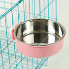 Water Bolt Cage Feeder Food Bowl Durable Hanging For Pet Dog Cat Bird