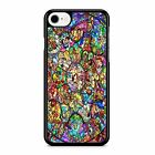 Disney all Character stained glass iPhone 7 plus case / iphone samsung etc