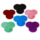 Trilobites Cleaner  Brushes Cleanser Washing Mat 1Pc Silicone Brush Cleaner