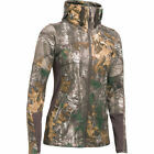 New Under Armour Stealth Hoodie 1303770 Realtree Camo Hunt Women's L XL 2XL $110