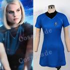 Star Trek Into Darkness Cosplay Costume Dr.Carol/Uhura Uniform Party Dress Blue on eBay