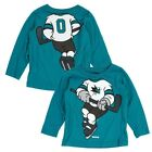 "San Jose Sharks Reebok NHL Toddler Teal ""Dream Hockey"" Team Long Sleeve T-Shirt $8.99 USD on eBay"