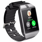 BLUETOOTH SMART WATCH DZ09 SMARTWATCH GSM SIM CARD FOR ANDROID SAMUSNG HTC PHONE