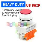 NEW Push Button RED GREEN YELLOW Switch Momentary On/ OFF Heavy Duty Push Button