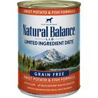 Natural Balance L.I.D. Fish & Sweet Potato Canned Dog Food