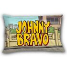 JOHNNY BRAVO Like Elvis Funny Cartoon 2 Side Pillow Cases 20x30