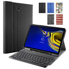 Galaxy Tab A 8.0 / Tab S4 10.5 / Tab A 10.5 Free Bluetooth Keyboard Case Cover
