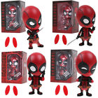 Deadpool Car Bobble Head Shake Head Doll Action Figure Collectible Model Toy BOX
