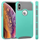 """For iPhone XS/X 5.8"""" Phone Hybrid Hard Shockproof Thin Slim Glossy Case Cover"""