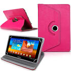 New Rotating 360&deg; PU Leather Case Cover For Android Tablet PC 7&quot; 8&quot; 9.7&quot; 10.1&quot;&quot; <br/> ✔1STCLASS RM FAST POST✔SAMEDAY DISDPATCH✔FREE RETURN UK