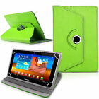 "New Rotating 360° PU Leather 7"" 8"" 9.7"" 10 inch Case Cover For Android Tablet PC"