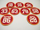 KC Chiefs Magnets Retired Jerseys - Pick players - Red Jersey Kansas City Chiefs on eBay