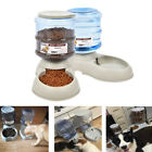 Automatic Pet Water Dispenser Feeder Dog Cat Travel Food Dish Bowl Bottle 3.5L