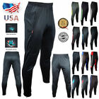 Mens Sport Athletic Soccer Fitness Training Running Casual Pants Trousers FX201