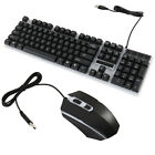 Computer Desktop Gaming Keyboard Mechanical Feel Led Light Backlit Color Change