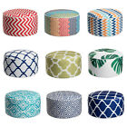 Outdoor Inflatable Ottoman Round Patio Round Footstool Indoor Patio 9 Colors