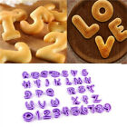 Craft Alphabet Number Cutter Tool Cake Decorating Fondant Mold Biscuit Plastic
