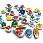 Art Craft Hand Painted Rocks Stones Gift Paint Personalised Girl Boys Family