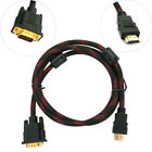 1 x HDMI Male to VGA Adapter Cable for TV Dispaly to Computer DV 6ft 1080P HD