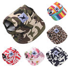 EP  Stripe Camo Flower Summer Outdoor Pet Dog Baseball Peaked Cap Puppy Hat Gift